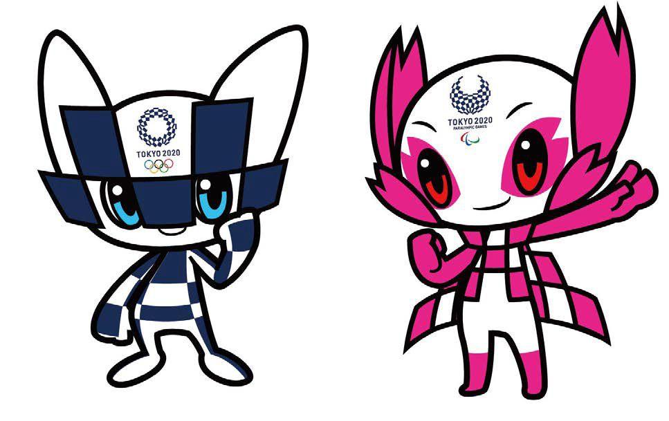Tokyo 2020 mascot, Miraitowa and Someity