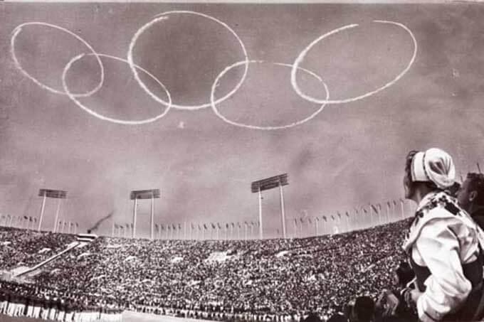 東京オリンピック1964年大会の開会式